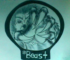 Beast logo by Wolf-Angel-whitewing