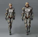 russian sci-fi suit Concept by Rofelrolf