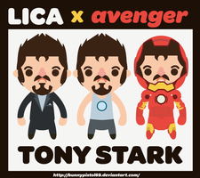 lica x avengers by bunnypistol69