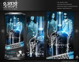 Hennessy Tuesday-Back Party Flyer by Gallistero