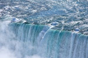 Niagara's Horseshoe Falls in Winter Garb 03 by TomFawls