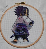 Sasuke xtitch by Magairlin89