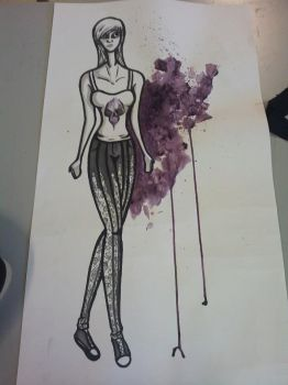 Fashion Illustration 2 by Faded-Phoenix