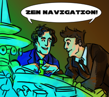 Zen navigation by konijnemans