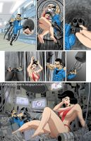 Commission Comics: The Blue Terror page 20 by sektujai
