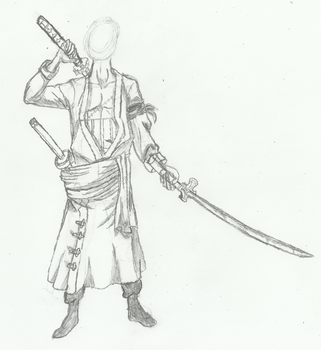 [WIP] A famous swordsman character. by WillJonh