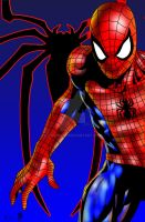 Spiderman Close Up by BigRob1031