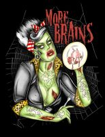 MORE BRAINS by tainted-orchid