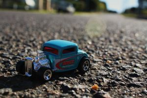 Hot wheels deuce coupe by Wolfie-83