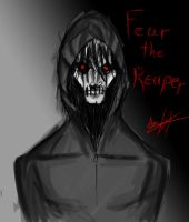 The Reaper Head Shot by Hysterio0