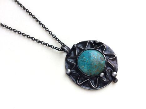 Blue Sun with turquoise by Artegato