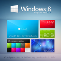 Windows 8 Metro WallPack v2.0 by LukSykora