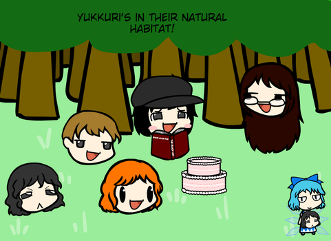 Yukkuri's In Their Natural Habitat~! by weasel777