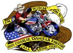 Charlie Daniels: Motorcycle by GuyGilchrist