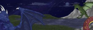 Astral Draco Banner by linai
