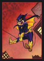 Batgirl swings by gypsygirlpress