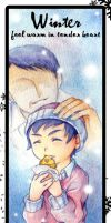 Bookmark Winter by yama30