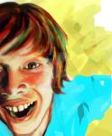 happy kid by arowell