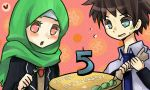 contest entry for muslim-manga (5th anniversary) by piyoa