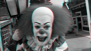 Pennywise-anaglyph by Hernanarce
