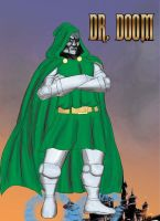 Doctor Doom by ArtbyMiel