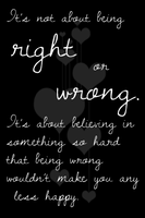 Right or Wrong by OcularFracture