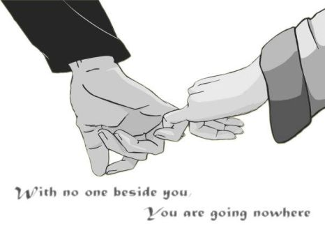 You Are Not Alone... by luke88cb