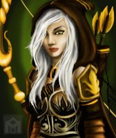 Ashe of the Freljord by kamupludge