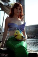 Little Mermaid - Sun Shot by BunniKez