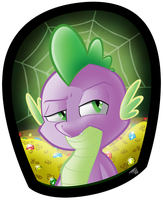 Spike Portrait by Tobibrocki