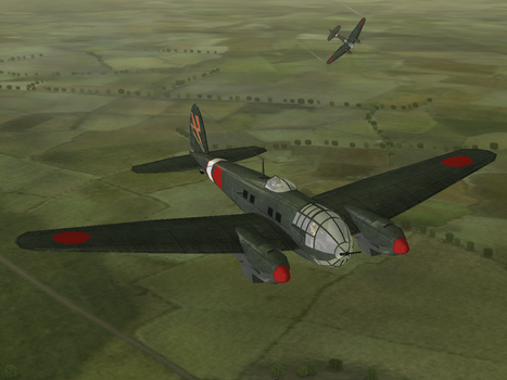 Japanese He-111 by Grand-Lobster-King