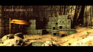 The Gerudo fortress V2.0 by Rwanlink