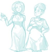 1950s Sisters by BellaCielo