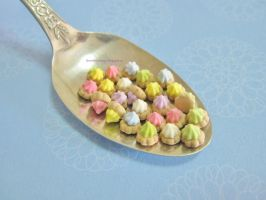 Miniature Iced Gems Biscuits by ilovelittlethings