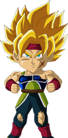Bardock Chibi by Guitar6God