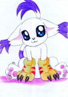 Gatomon by Wolf-of-Moonlight