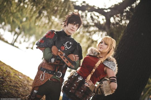How To Train Your Dragon 2 ~ Hiccup and Astrid II by Yamato-Leaphere