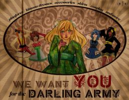 Darling Army Contest Entry: Poster (Variant 2) by illuminantur