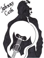 Johnny Cash by dcretch57