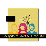 GraphicArtsForAll New Deviant Group Logo by UnlimitedIdeasGraph