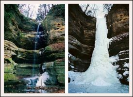 From Waterfall to Icefall by Captain-Planet