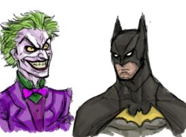Batsy and the Joker by bienmexicano