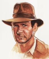 Indiana Jones by phan-tom