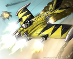 Dakkajet-colored by Marauder6272