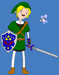 Adventure Time with Link by 8-BitAttorney