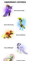 Equestria Divided: The Divided Six by BBBHuey