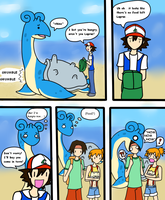 Baby Lapras is hungry by FatefulWings