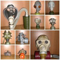 My collection of gas masks by vanitosul