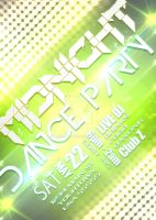 Midnight Dance Party flyer by bry5012