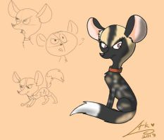 African Painted Dog by Lid-the-Kid